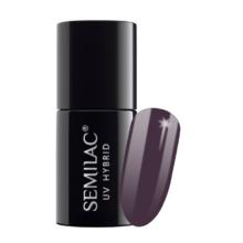 Semilac Lakier Hybrydowy 7 ml – 014 Dark Violet Dreams