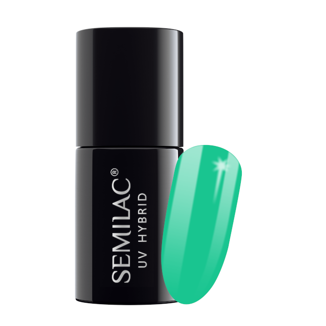 Semilac Lakier Hybrydowy 7 ml – 021 Turquoise