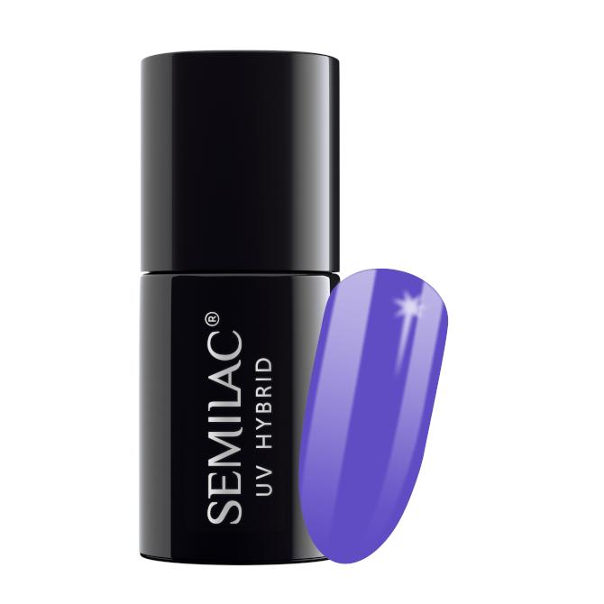Semilac Lakier Hybrydowy 7 ml – 036 Pearl Violet