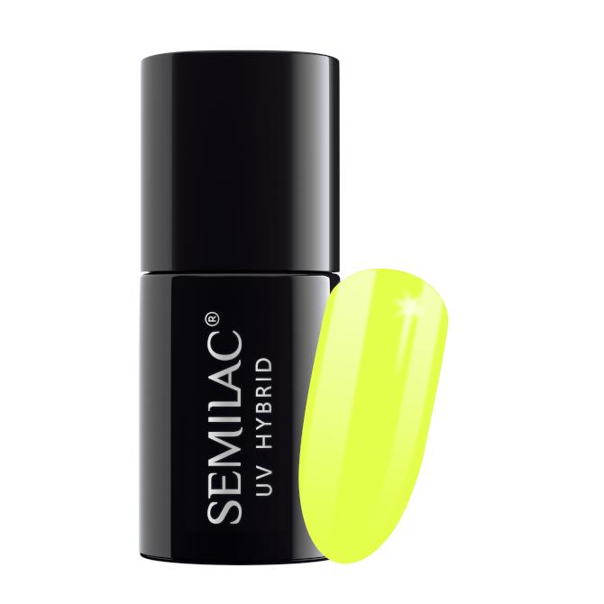 Semilac Lakier Hybrydowy 7 ml – 040 Canary Green
