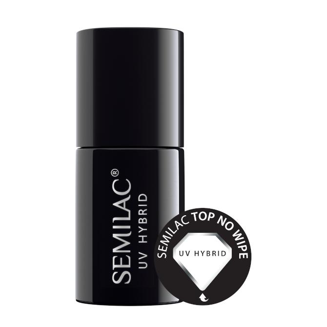 Semilac Top No Wipe