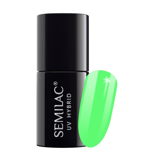 Semilac Lakier Hybrydowy 7 ml – 041 Caribbean Green