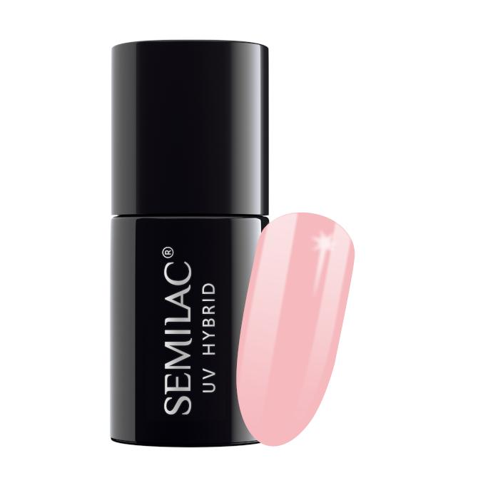 Semilac Lakier Hybrydowy 7 ml – 047 Pink Peach Milk