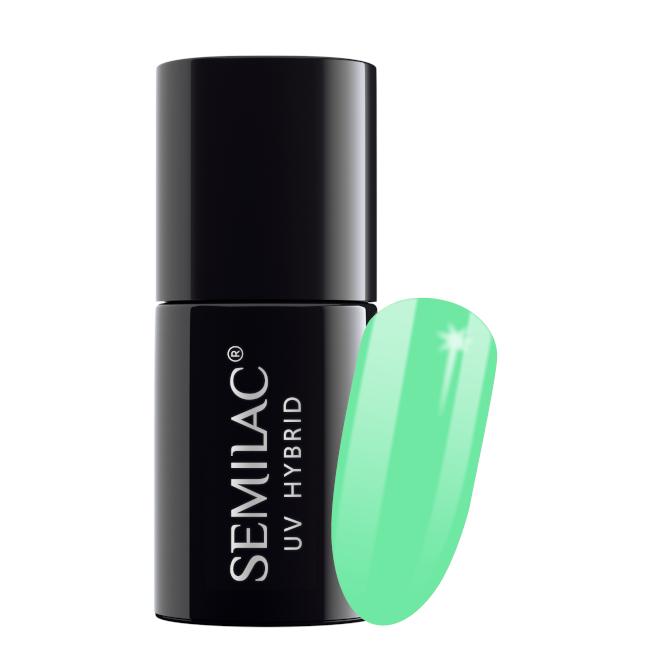 Semilac Lakier Hybrydowy 7 ml – 048 Bright Emerald