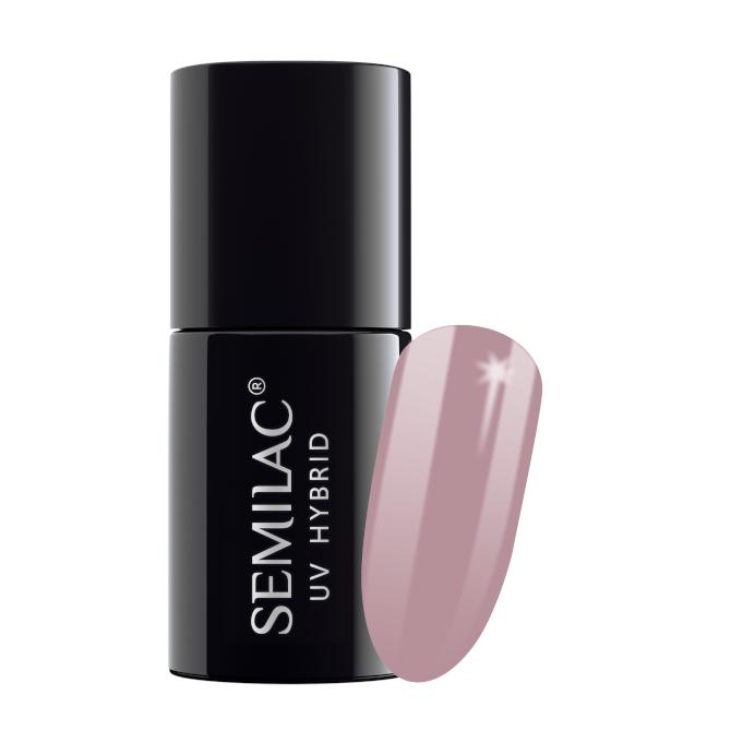 Semilac Lakier Hybrydowy 7 ml – 057 Nude Beige Rose