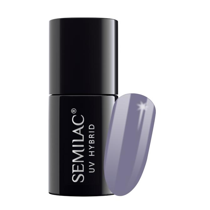 Semilac Lakier Hybrydowy 7 ml – 104 Violet Gray