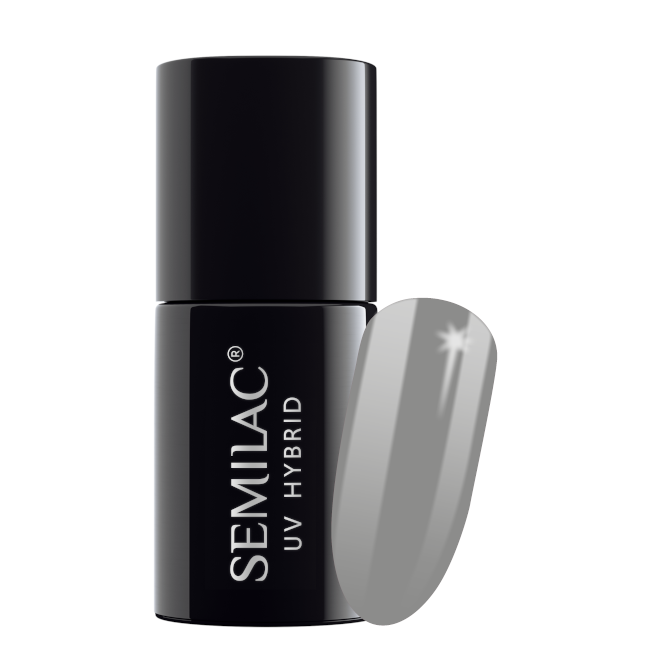 Semilac Lakier Hybrydowy 7 ml – 105 Stylish Gray