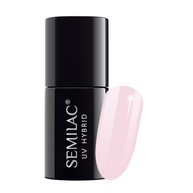 Semilac Lakier Hybrydowy 7 ml – 128 Pink Marshmallow