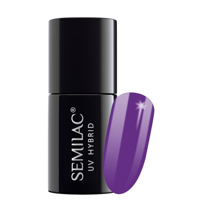 Semilac Lakier Hybrydowy 7 ml – 129 Violet Bliss