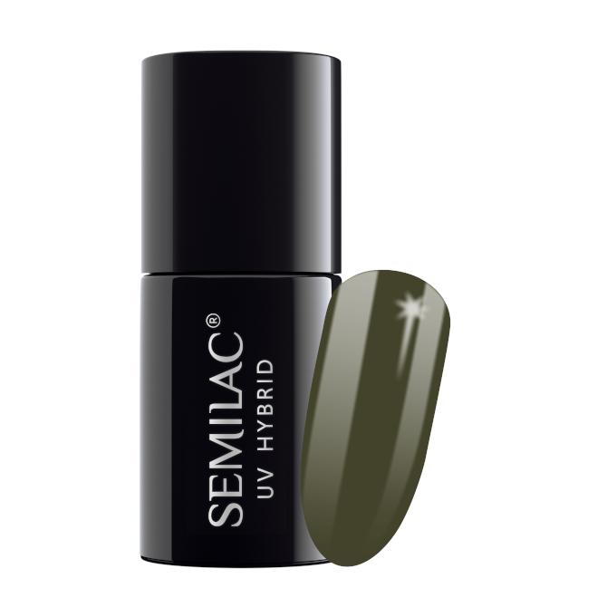 Semilac Lakier Hybrydowy 7 ml – 151 Army Green