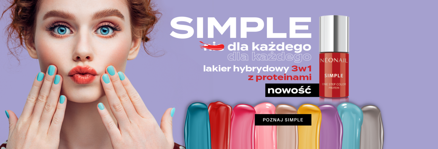 SIMPLE Slider final lakier hybrydowy 3in1