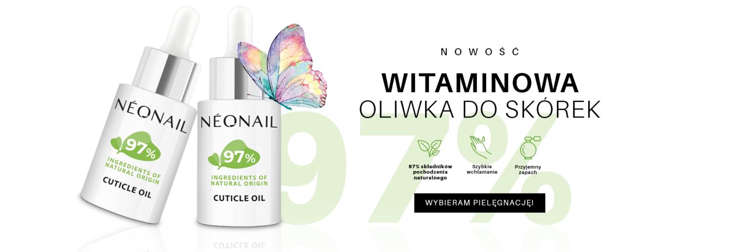 neonail oliwka cuticle - witaminowa do skórek