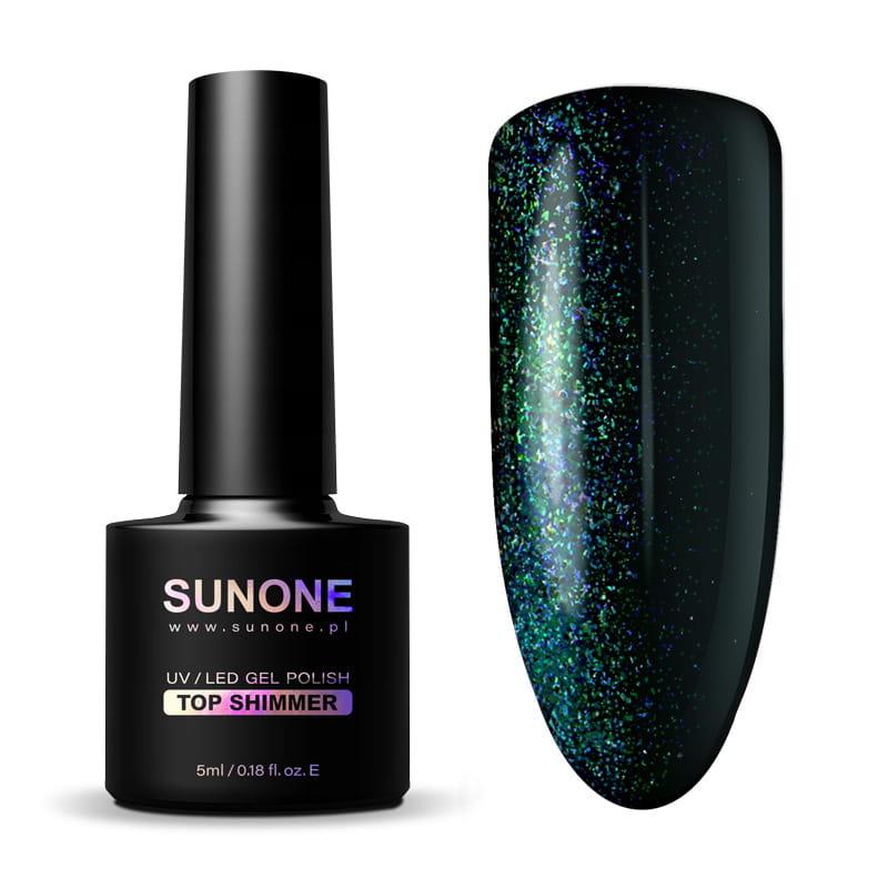 S1 B PO Top Shimmer 3D 3 Black