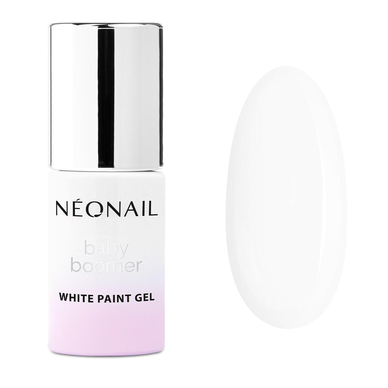 NeoNail Paint UV/LED Gel 6,5 ml - Baby Boomer White Paint Gel