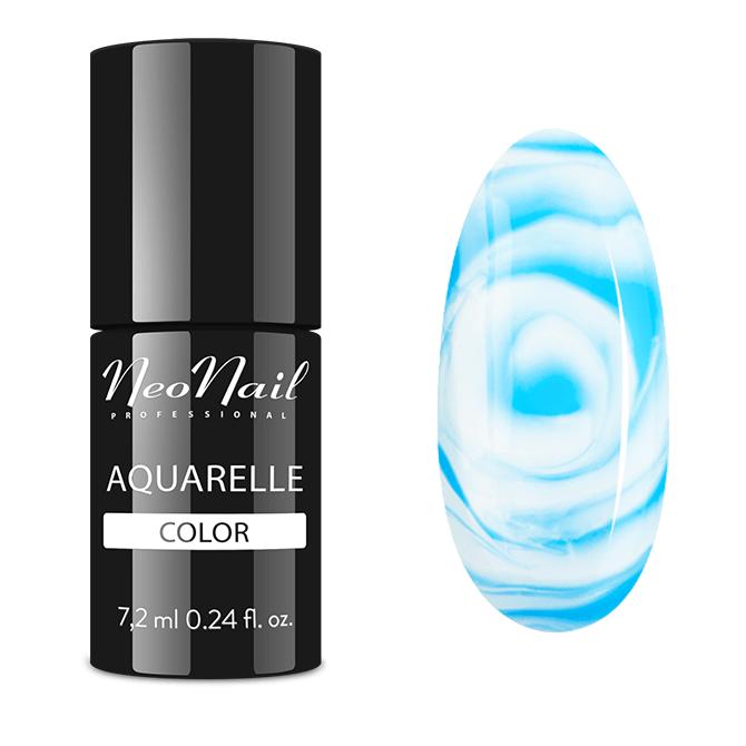 lakier hybrydowy blue aquarelle buteleczka