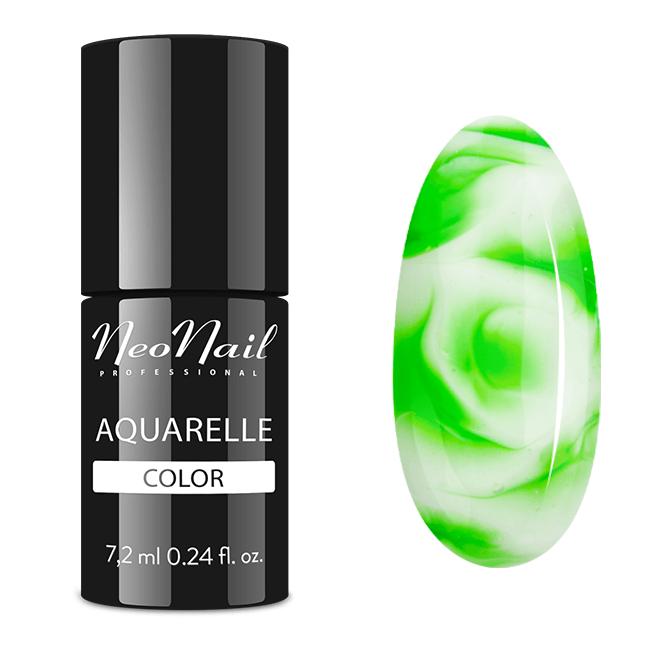 lakier hybrydowy green aquarelle
