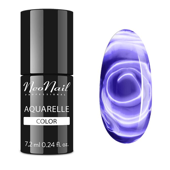 lakier hybrydowy violet aquarelle